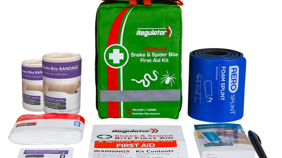 Snakes and Spiders First Aid Kit
