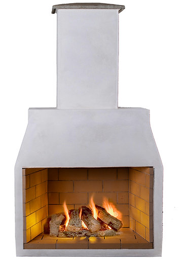 Garden Fireplace - Schiedel Isokern 1200 Model