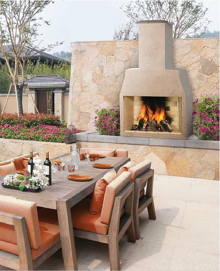 Garden Fireplace - 1200 Model