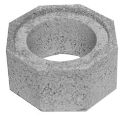 180mm i/d 310x310mm starter flue block 150mm high