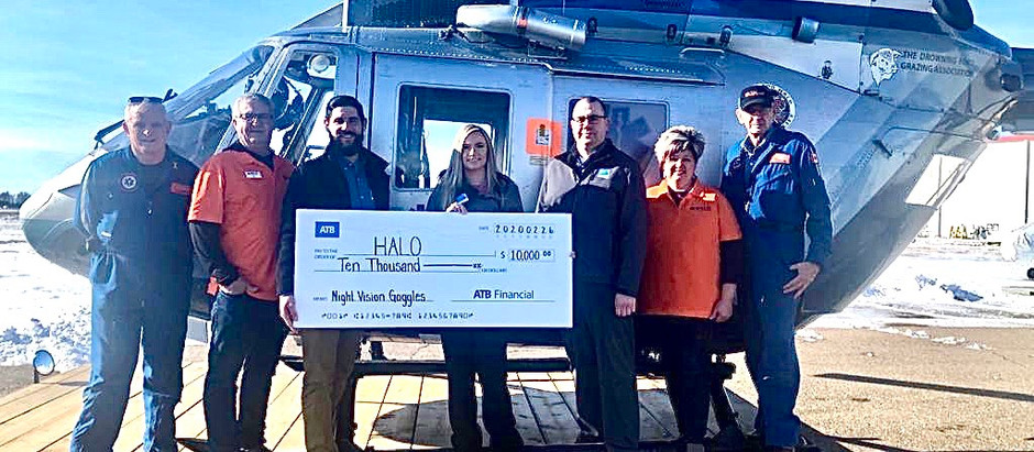 ATB Supports NVG Program for HALO!