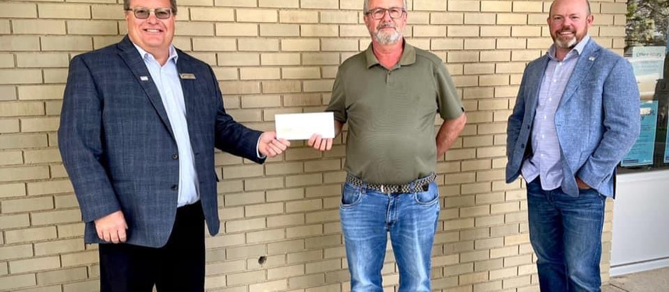 County of Forty Mile Annual Donation!