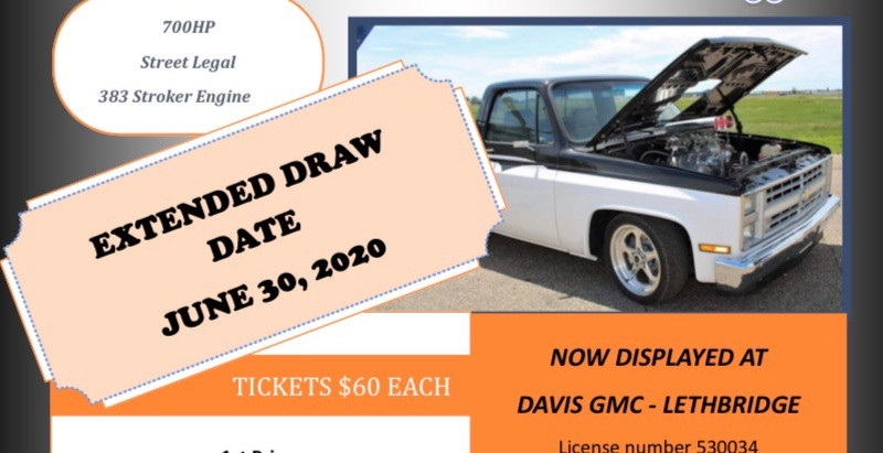 Draw Date Extended For Race Truck Raffle