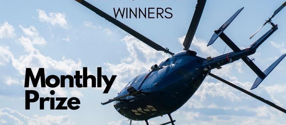 Winning Wednesday March 31st, Monthly Winner.