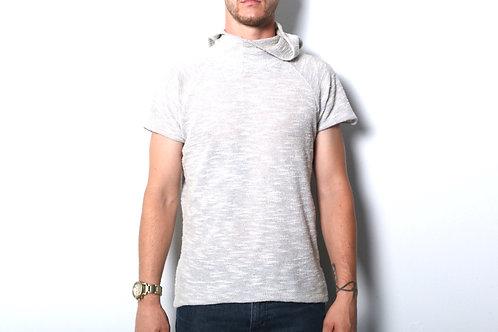 Grey Euro Hoodie Knit