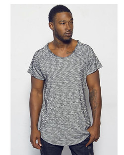 Songwriter #kevinmccallofficial wearing Cool Grey _Oliventa_ Long Tee