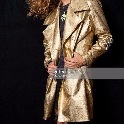 Gold Pea-Coat   (Mad Max Heritage)