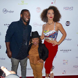 Oliventa_ Clothing ripping the Red Carpet Fashion Show with _1lilboss7 and  _misslosangeles  #lifeti