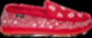 Trooper America Red Bandana Paisley Shoe