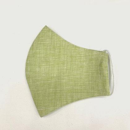 Lino Lime Green Mask
