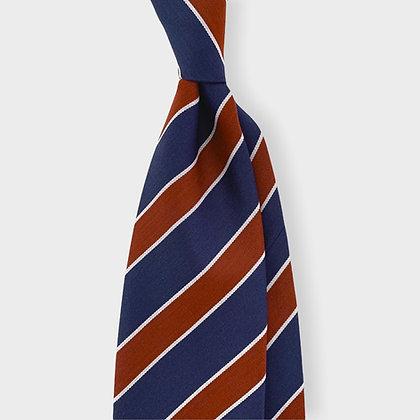 Red Mid Blue Wool Tie