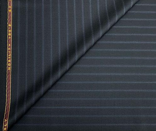 Cerruti 8161/314/4 Black & Blue Stripe