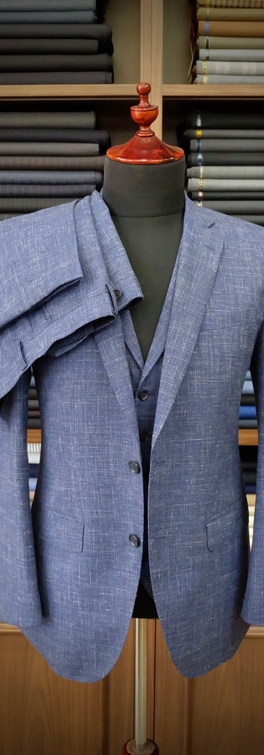 Blue 3 Piece Suit