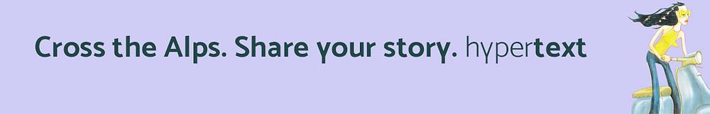 «Supera le Alpi. Racconta la tua storia.» Il nuovo slogan di Hypertext riassume bene la mia missione: aiutarti a far crescere il tuo marchio trovando il filo con le persone che vivono al di là delle Alpi. Contattatemi per scoprire come.