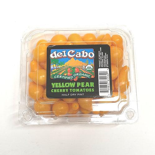 Organic Yellow Pear Cherry Tomatoes