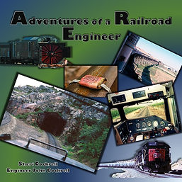 45 YEARS - BOOK - ADVENTURES OF A RAILRO