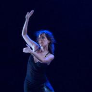 """Bühnenprogramm """"In deinen Armen"""" 1.11.2013 Tangofestival Düsseldorf im tanzhaus nrw Solo """"Ausencias"""" Foto: Hartmut Schug"""