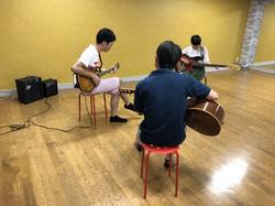 防音施工ルームですので楽器の演奏も可能。