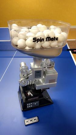 卓球マシン(TSP SpinMateリモコン付)