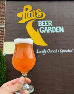 Pints Beer Garden