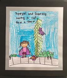 D'Tayvlah C., Grade 3, Woodland Elementary East School
