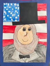 Latchana M., Grade 1, Woodland Elementary School East.