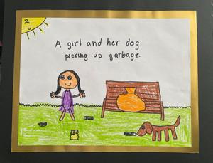 Annet T., Grade 3, Woodland Elementary East School