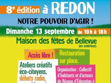 8ème fête éco-citoyenne à Redon