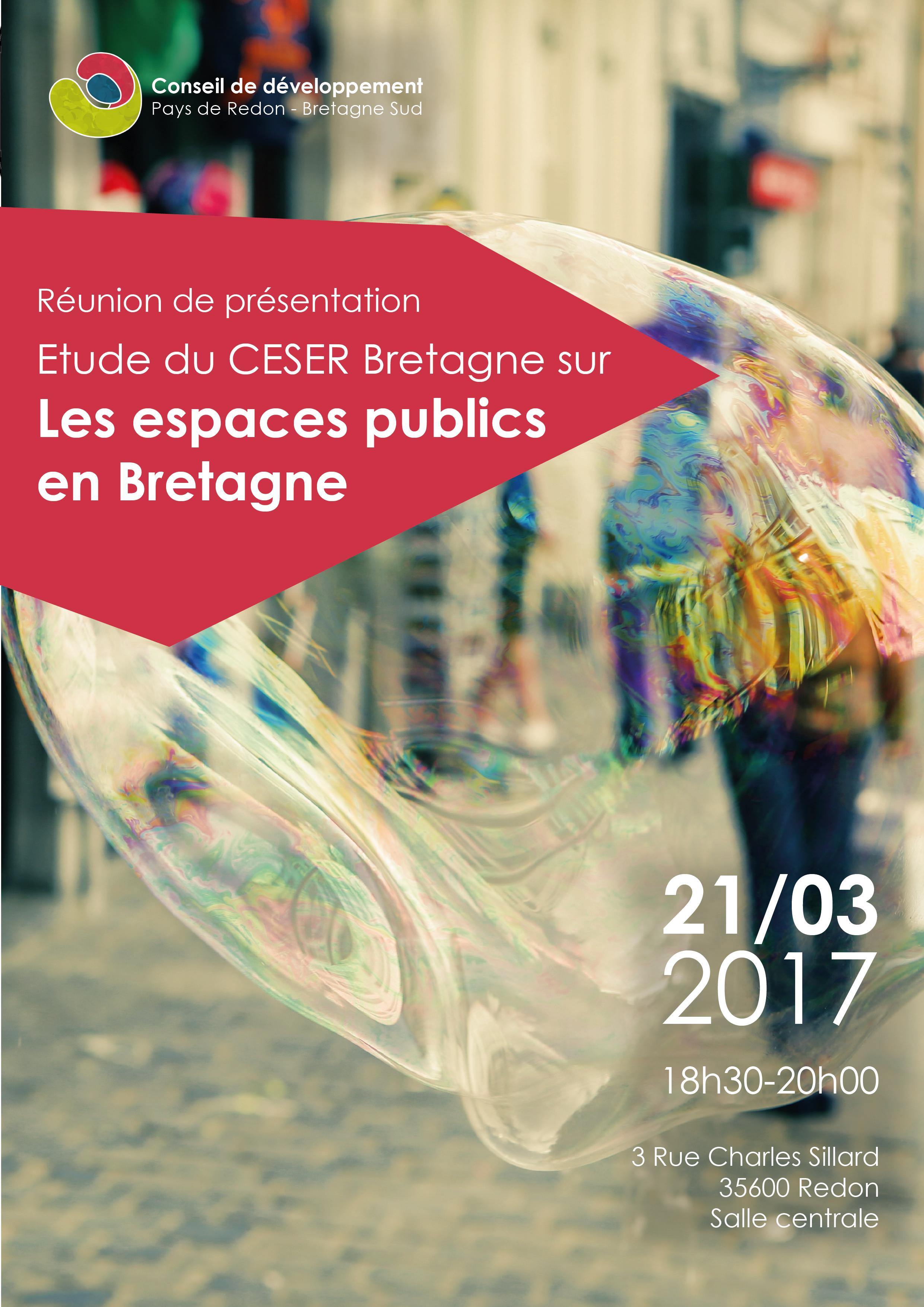 Espaces publics en Bretagne