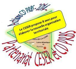Le CESER BZH et l'organisation territoriale