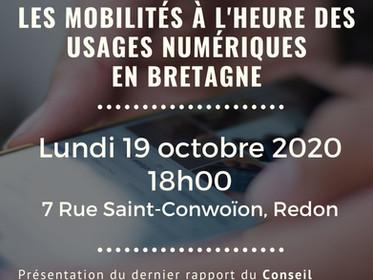 CONFERENCE - Les mobilités à l'heure des usages numériques
