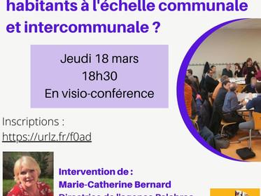 Participation citoyenne dans les communes et intercommunalités