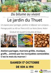 A la découverte du jardin du Thuet - 17 octobre