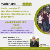 Habitat participatif : webinaire du Conseil de développement