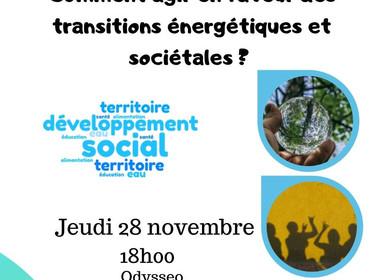 """Assemblée Générale """"Comment agir en faveur des transitions énergétiques et sociétables ? """""""