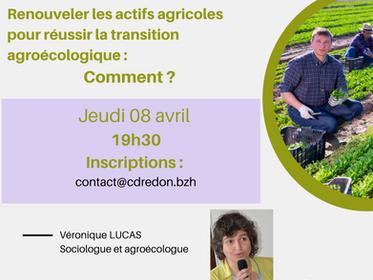 Replay : Renouveler les actifs agricoles pour réussir la transition agroécologique : comment ?