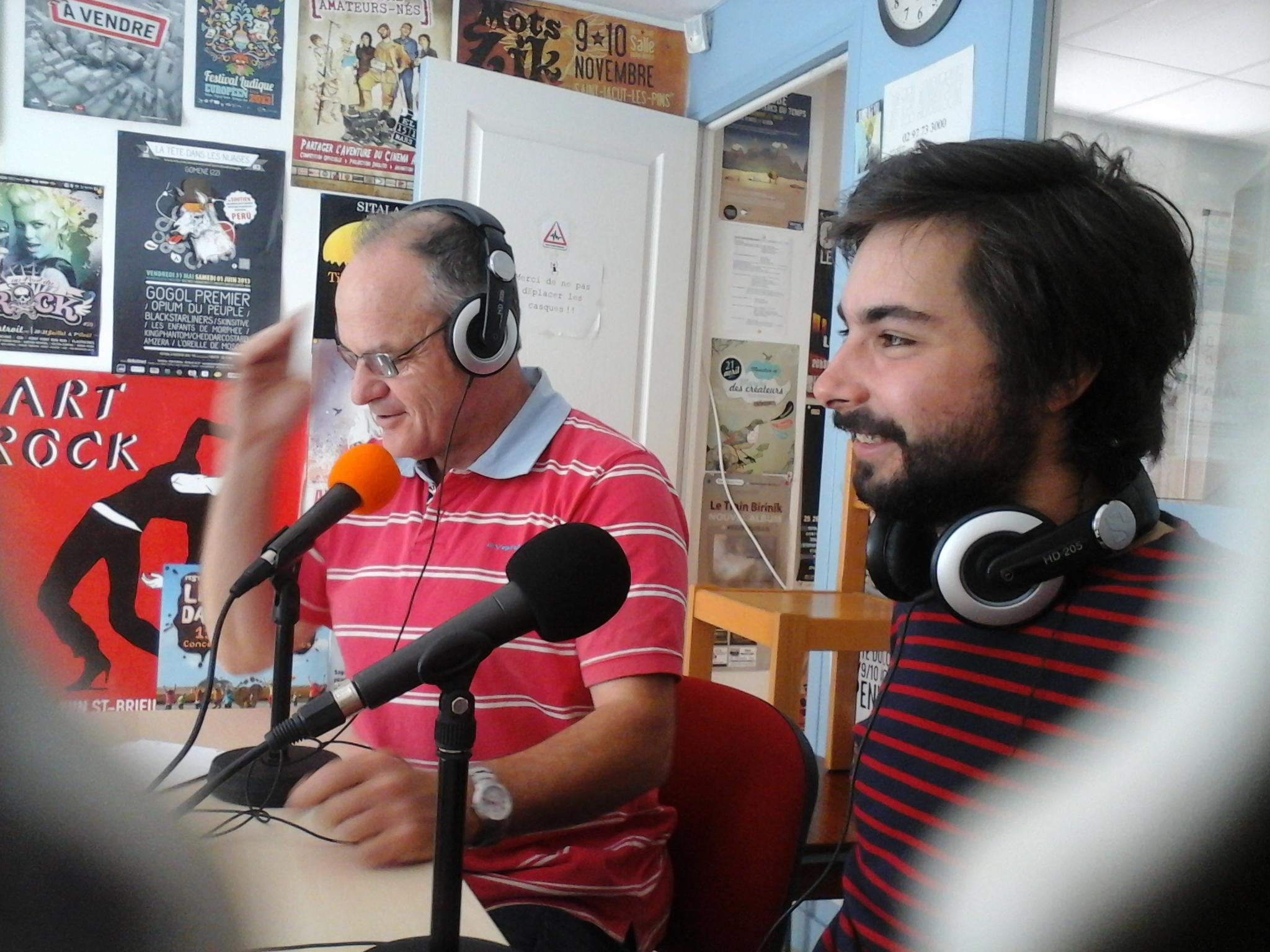 Covoiturage à Redon Emission Plum FM