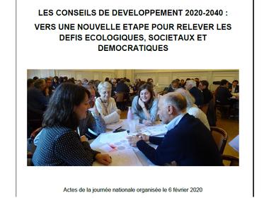 Les Conseils de développement : vers une nouvelle étape pour relever les défis écologiques, sociétau