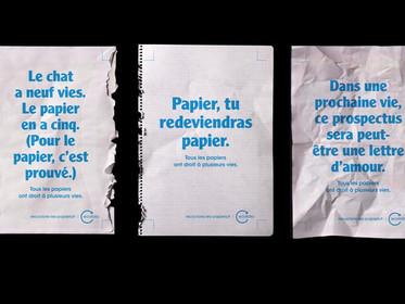 L'homme est-il capable de trier ses papiers ? EcoFolio incite les habitants aux éco-gestes