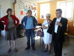 Visite du député Yves Daniel sur l'e