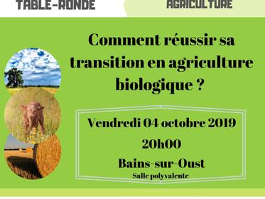 Comment réussir sa transition en agriculture biologique?