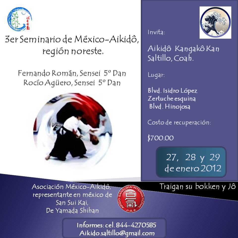 Seminario 2012 Saltillo Cohauila