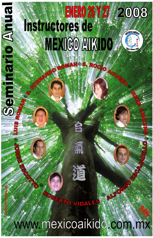 Cartel instructores 2008