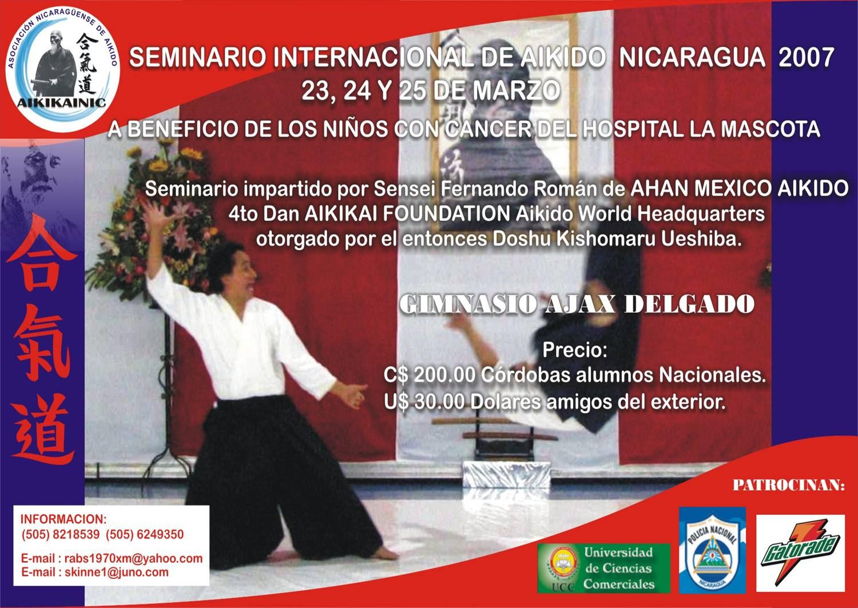 SEMINARIO EN NICARAGUA 2007