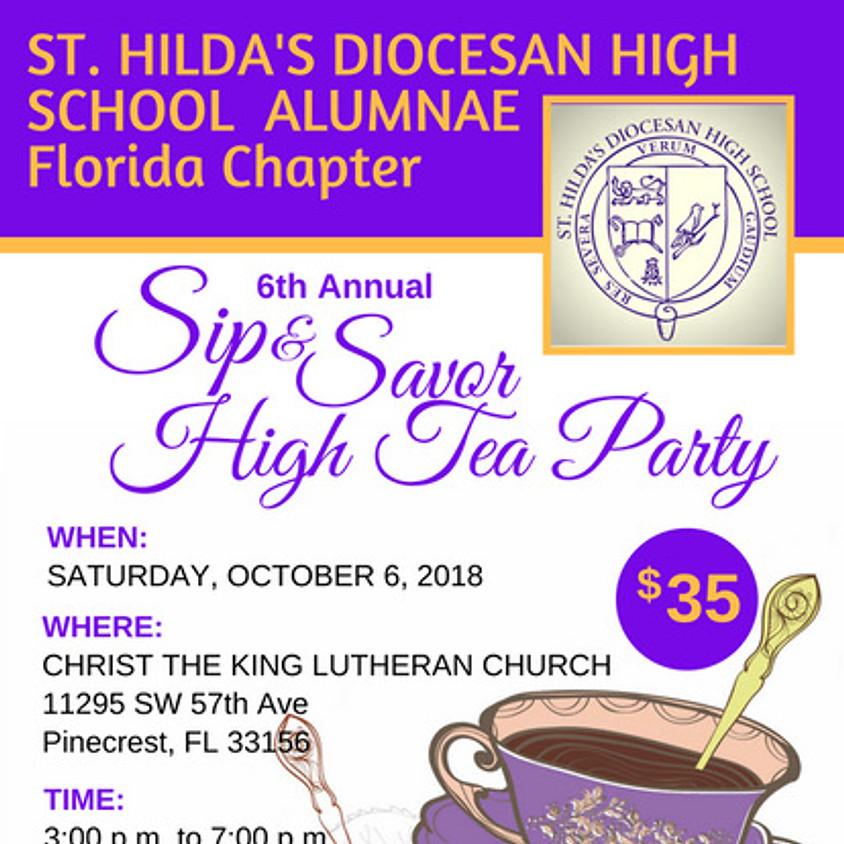 6th Annual Sip & Savor High Tea Party