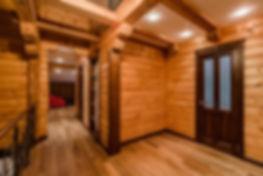 Дом из бруса внутри