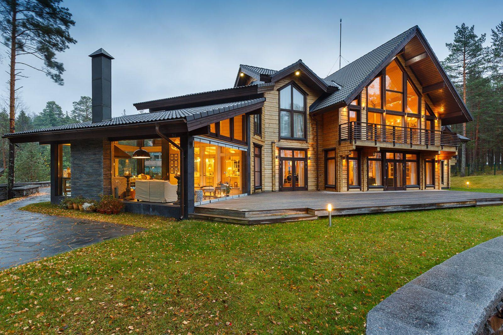 Дом из клеенного бруса