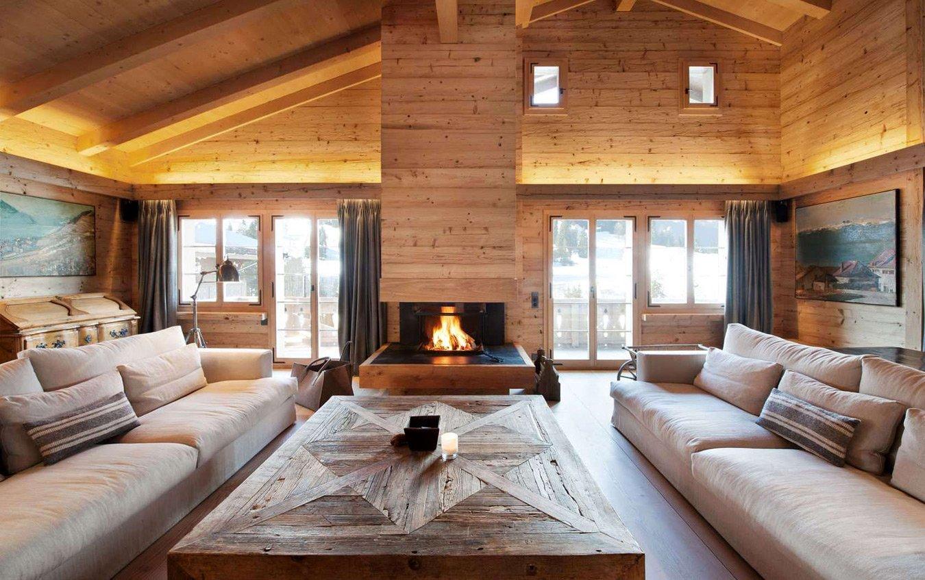 Деревянный дом под чистовую отделку