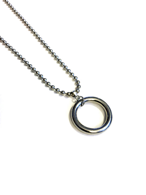 Submissive O-ring Fetish Necklace