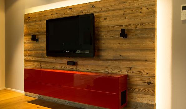 Tv möbel aus altholz  B&R Studio Erding | Projekte/TV-Möbel